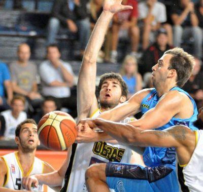 Bahía Basket perdió como local ante Obras Sanitarias