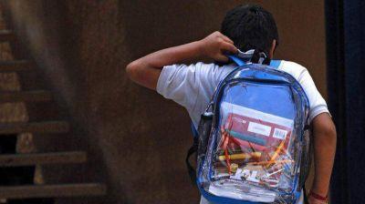 Misiones: los alumnos deberán usar mochilas transparentes para controlar que no lleven armas
