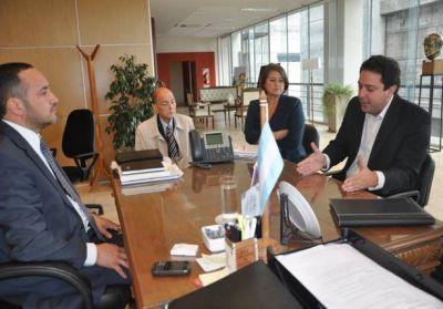 Progresar: el director de Anses se reunió con el ministro de Educación provincial