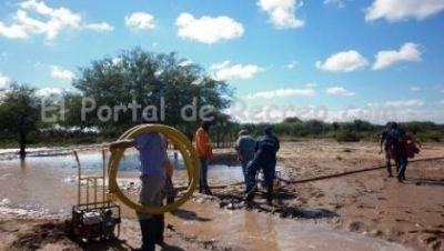 La lluvia y el fuerte viento causaron daños en una localidad de Recreo