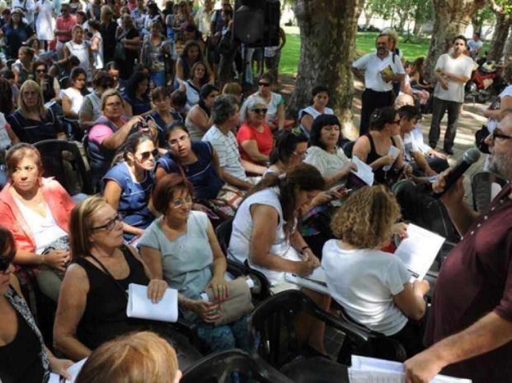 En Amsafé Rosario la mayoría de las mociones propone hacer paros