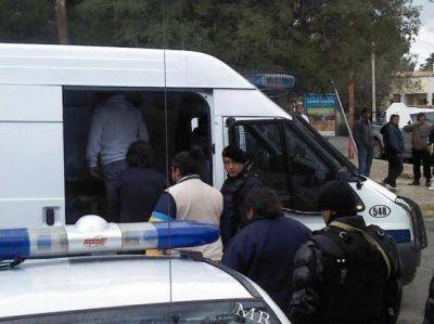 Trasladaron a los delegados petroleros detenidos