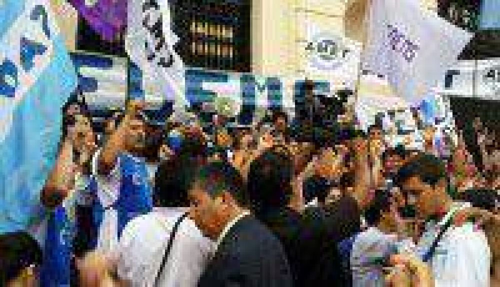 Movilizó el FGE y la Multisectorial