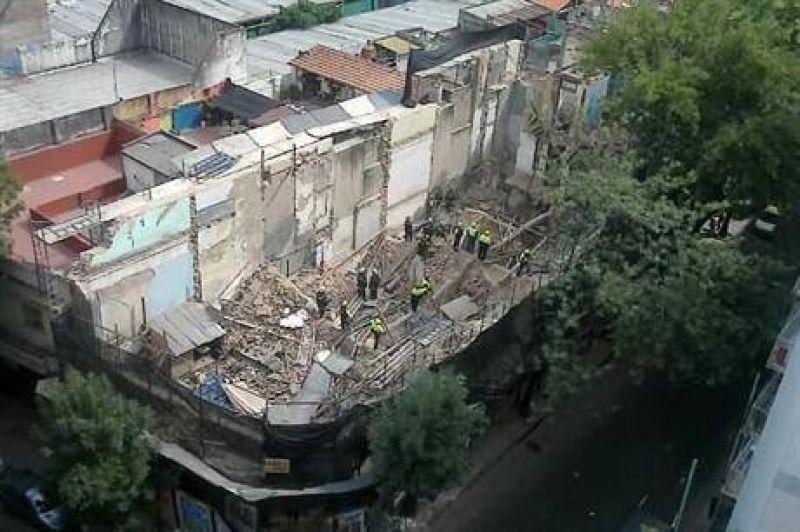 La UOCRA hab�a denunciado las irregularidades de la obra de Balvanera