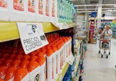 Labraron 60 infracciones por los precios cuidados