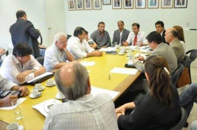 Legislatura chaqueña: Reunión de trabajo por el PROSAP