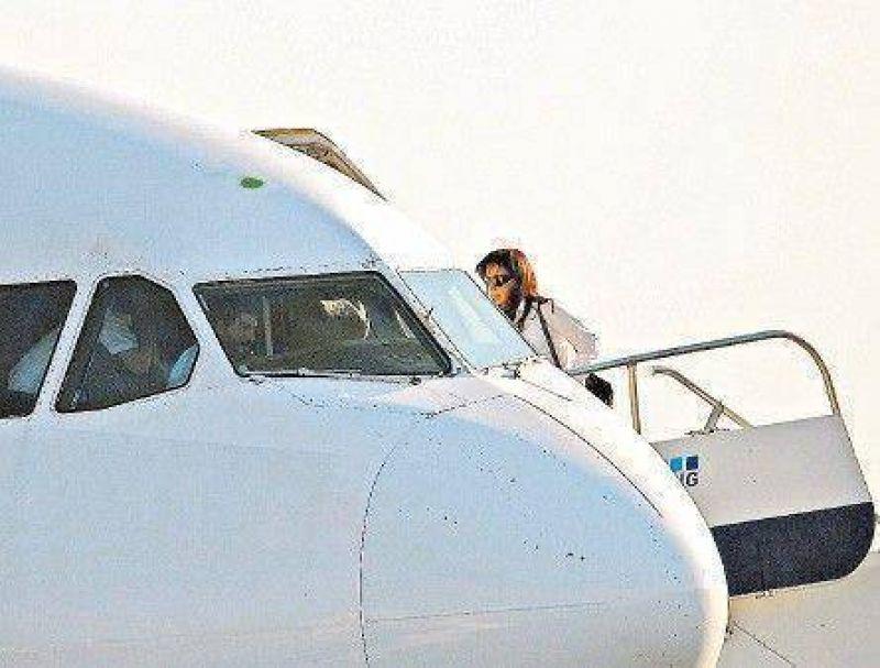 Cristina usará un avión de Repsol