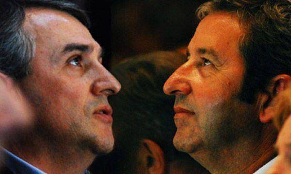 """En la UCR """"no cayó bien"""" la foto entre Cobos y el candidato de PRO"""