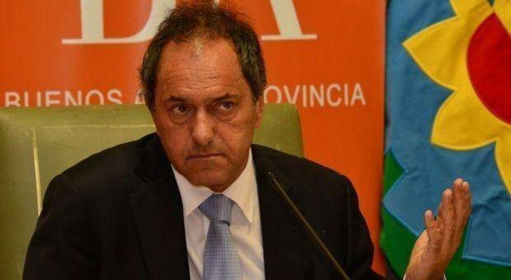 """Paritaria: Scioli dijo que """"la mayor parte del Presupuesto se destina a la Educación"""""""