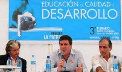 Mariotto encabez� el Tercer Plenario de Pol�ticas P�blicas con m�s de mil participantes