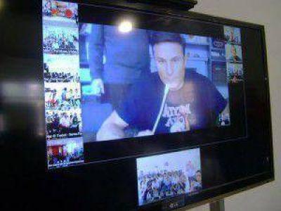 Se realizó exitosamente videoconferencia en el NAC ciudad de Formosa