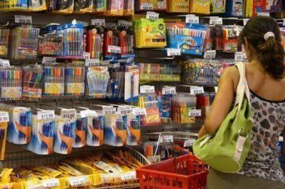 Canasta escolar: advierten �austeridad� en las ventas