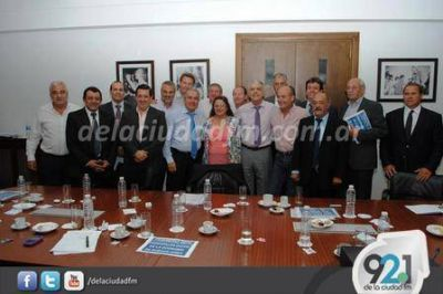 El Intendente de Guaminí se reunió con el Ministro de Planificación