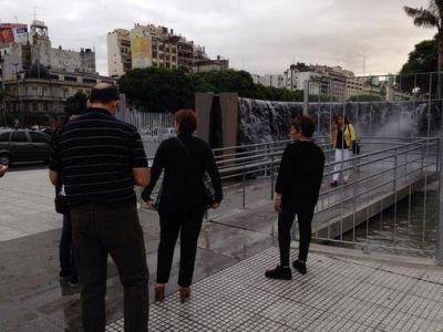 La réplica de Cataratas en Buenos Aires nuevamente atrae a miles de visitantes