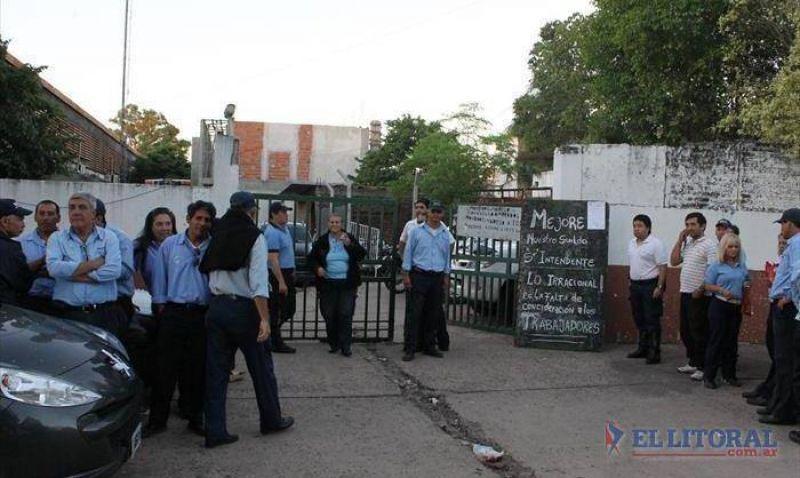 Paro de municipales: no habrá hoy recolección ni inspectores