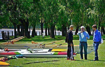 Se incorporaron nuevas embarcaciones a la Escuela municipal de Remo y Canotaje