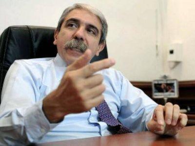 """Aníbal Fernández: """"Es muy poco original decir que la culpa de todo la tiene el peronismo"""""""