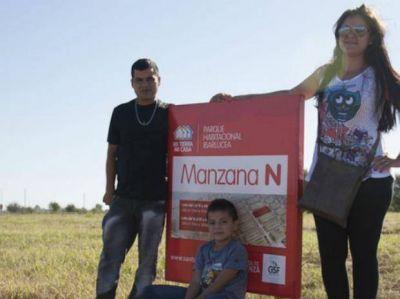 """Adjudicaron 133 lotes del programa """"Mi tierra, mi casa"""" en la zona norte"""