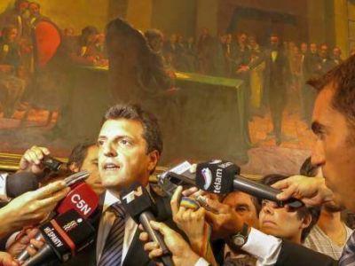 Massa: �Quieren un c�digo penal que abre las puertas de las c�rceles�