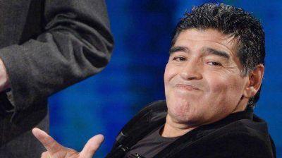 Diego Maradona, en la entrega de los premios Oscar