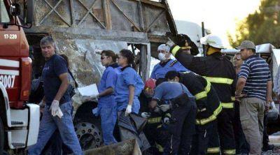 Trasladarán a su país al alemán herido en el accidente de la ruta 7