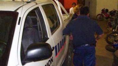 Fuerte operativo policial para capturar a persona