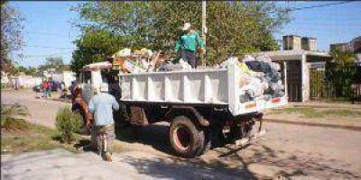 Se recogen unas 200 toneladas de basura por día en Formosa