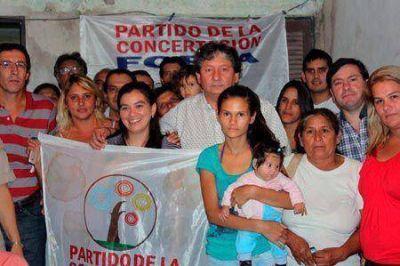 Las Garcitas: Conformaron la Junta Local de la Concertación-FORJA