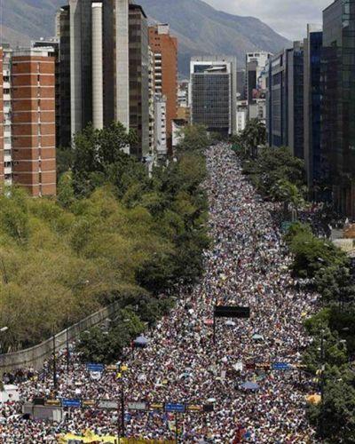 Los estudiantes venezolanos volvieron a la calle