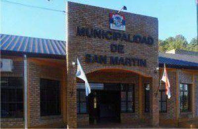 Empleados municipales de San Martín reciben 500 pesos de aumento en el sueldo básico
