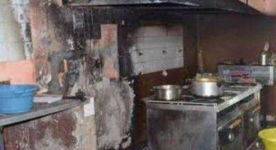 Vivienda ardió en llamas y su dueño murió calcinado
