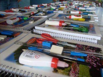 Arranca la venta de las canastas de útiles escolares a $100 en Concordia