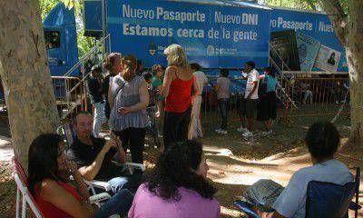 Recién el miércoles se podrá comenzar a gestionar DNI y pasaportes en Mendoza