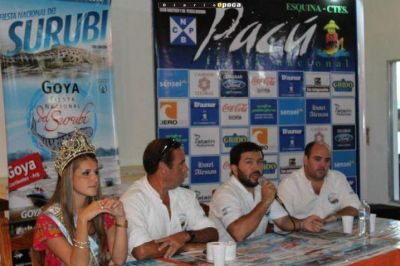 La XXXIX Fiesta Nacional del Surubí se promocionó en Esquina, Corrientes