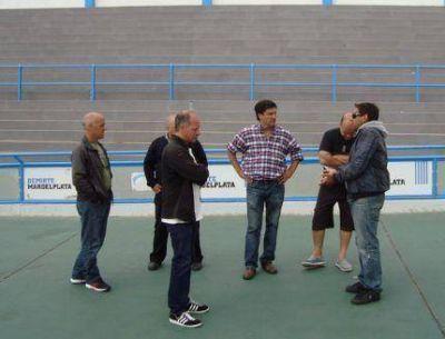 Claman por el arreglo del Patinódromo luego de la Copa Davis