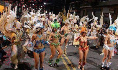 Una multitud disfrutó en la noche más esperada del carnaval