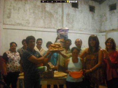 Primer concurso de la Torta Frita en Garaví