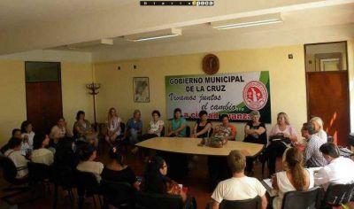 Canasta escolar municipal en La Cruz