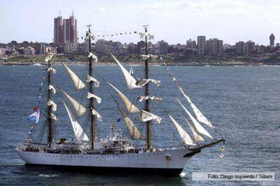 Más de 160 mil personas visitaron la Fragata Libertad en Mar del Plata