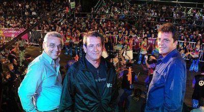 Miles de vecinos disfrutaron los festejos de Carnaval en Tigre