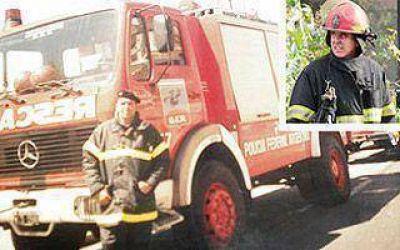 Homenajearán al bombero de Lanús fallecido en Barracas