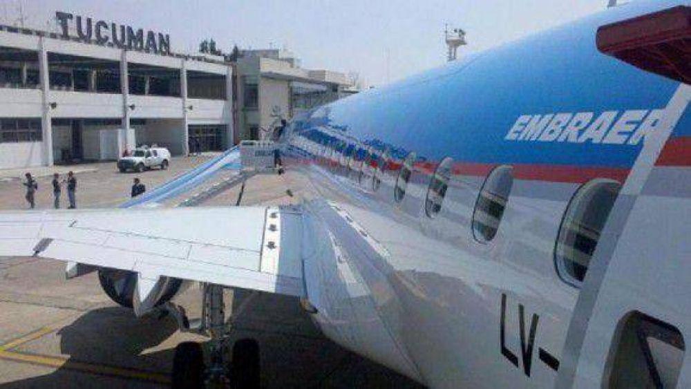 Por un conflicto gremial no estará operable el Aeropuerto Benjamín Matienzo por 24 horas