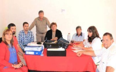 Empezaron las reuniones por la electrificación rural El Redomón - Paso Miraflores