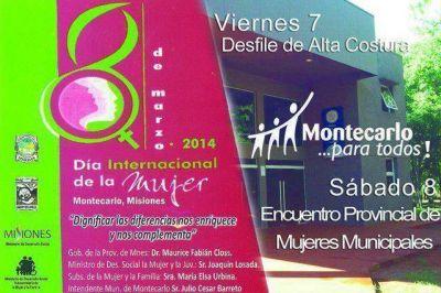 Ultiman preparativos para Encuentro Provincial de Mujeres
