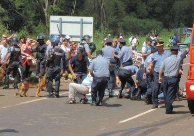 """Recrudece el malestar social tras el desalojo del """"piquete"""" en Garupá"""
