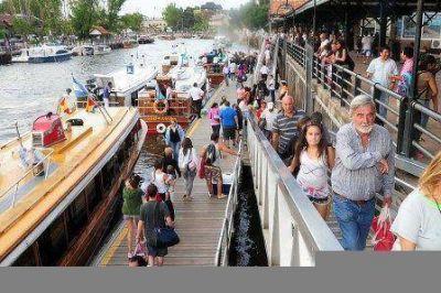 Tigre recibió más de 250 mil visitantes el fin de semana largo de Carnaval