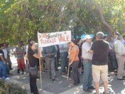 Los viñateros decidirán en asamblea si continúan con las protestas