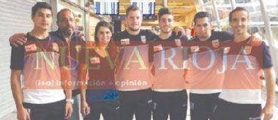 Montenegro y Pizarro están en Chile para los Odesur