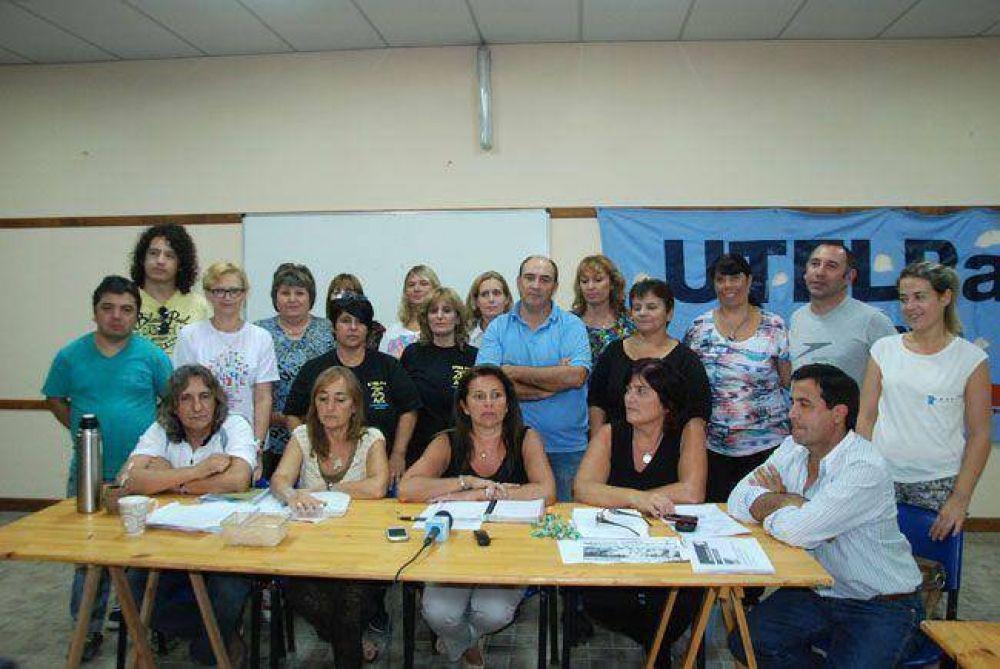 UTELPA ratificó la segunda jornada de paro, SADOP y AMET acataron la conciliación