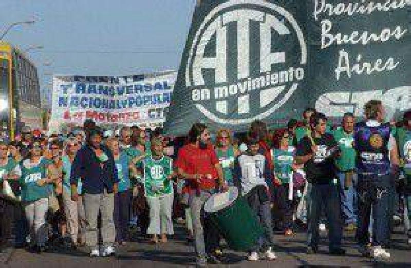 ATE realizó paro en diversos sectores